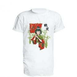 Подовжена футболка Japanese