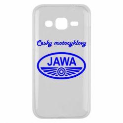 Чохол для Samsung J2 2015 Java Cesky Motocyclovy