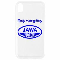 Чохол для iPhone XR Java Cesky Motocyclovy