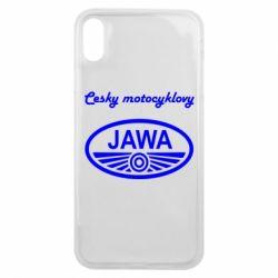 Чохол для iPhone Xs Max Java Cesky Motocyclovy