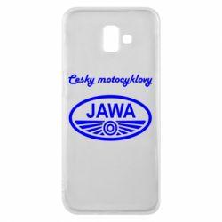 Чохол для Samsung J6 Plus 2018 Java Cesky Motocyclovy
