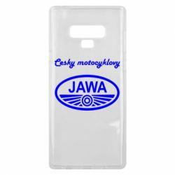Чохол для Samsung Note 9 Java Cesky Motocyclovy