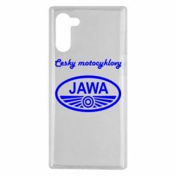 Чохол для Samsung Note 10 Java Cesky Motocyclovy