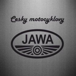 Наклейка Java Cesky Motocyclovy - FatLine