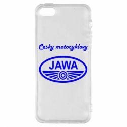 Чохол для iphone 5/5S/SE Java Cesky Motocyclovy