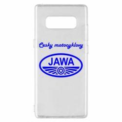 Чохол для Samsung Note 8 Java Cesky Motocyclovy