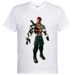 Мужская футболка  с V-образным вырезом Jax