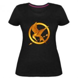 Жіноча стрейчева футболка Jay