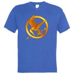 Чоловіча футболка з V-подібним вирізом Jay