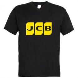 Чоловіча футболка з V-подібним вирізом JCB 2