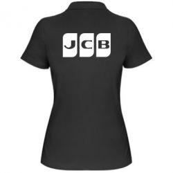 Жіноча футболка поло JCB 2