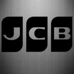 Наклейка JCB 2