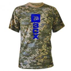Камуфляжна футболка JCB 3CX