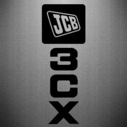 Наклейка JCB 3CX