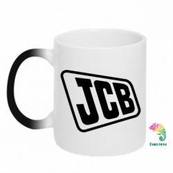 Кружка-хамелеон JCB