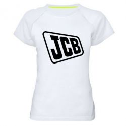 Жіноча спортивна футболка JCB