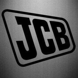 Наклейка JCB