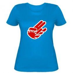 Женская футболка JDM Arm