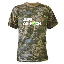 Камуфляжная футболка JDM As Fuck - FatLine