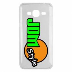 Чехол для Samsung J3 2016 JDM Style