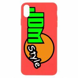 Чехол для iPhone Xs Max JDM Style