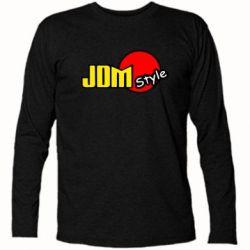Футболка с длинным рукавом JDM Style