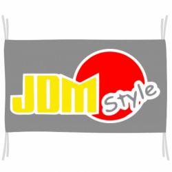 Флаг JDM Style