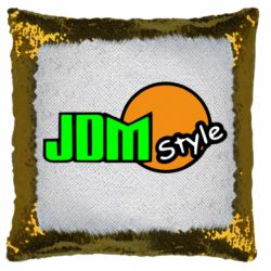 Подушка-хамелеон JDM Style