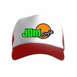 Детская кепка-тракер JDM Style