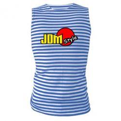 Майка-тельняшка JDM Style - FatLine