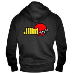 Мужская толстовка на молнии JDM Style - FatLine