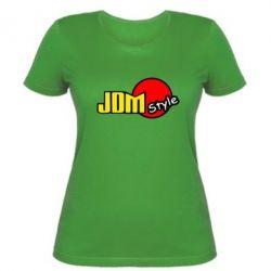 Женская футболка JDM Style - FatLine