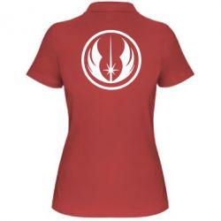 Женская футболка поло Jedi Order - FatLine