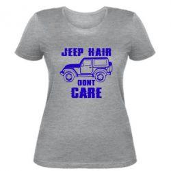 Жіноча футболка Jeep hair don't care