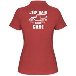 Жіноча футболка поло Jeep hair don't care
