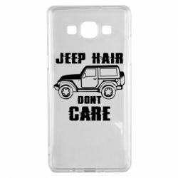Чохол для Samsung A5 2015 Jeep hair don't care
