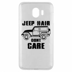 Чохол для Samsung J4 Jeep hair don't care