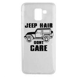 Чохол для Samsung J6 Jeep hair don't care