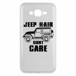 Чохол для Samsung J7 2015 Jeep hair don't care