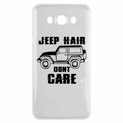 Чохол для Samsung J7 2016 Jeep hair don't care