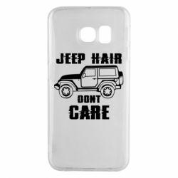 Чохол для Samsung S6 EDGE Jeep hair don't care