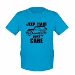 Дитяча футболка Jeep hair don't care