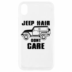 Чохол для iPhone XR Jeep hair don't care