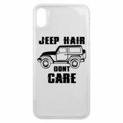 Чохол для iPhone Xs Max Jeep hair don't care