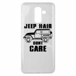 Чохол для Samsung J8 2018 Jeep hair don't care