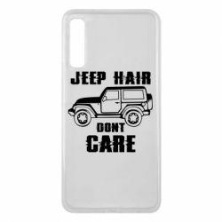 Чохол для Samsung A7 2018 Jeep hair don't care