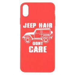 Чохол для iPhone X/Xs Jeep hair don't care