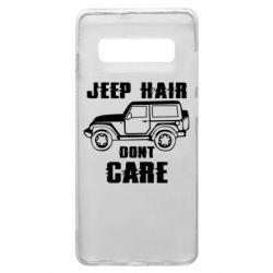 Чохол для Samsung S10+ Jeep hair don't care