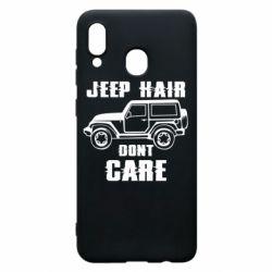 Чохол для Samsung A30 Jeep hair don't care