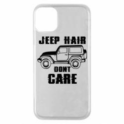 Чохол для iPhone 11 Pro Jeep hair don't care